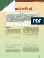 La Escala de Planck