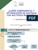 diseño experimental y optimizacion