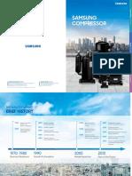 SAMSUNG Compressor Catalogue 2018