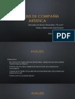 Analisis de Compañía Artistica
