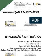 Funcao Polinomial 2 Grau e o Teorema de Pitagoras