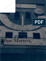 [Suny Series in Jewish Philosophy] Tamar M. Rudavsky - Time Matters_ Time, Creation, And Cosmology in Medieval Jewish Philosophy (2000, State University of New York Press)