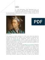 Leonhard Euler Biografia