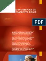 Elaboracion Plan de Entrenamiento Fisico