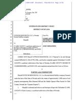 Gypsum Lawsuit vs County