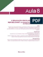 A Educação Escolar No Brasil Republicano- Da Redemocratização Em 1945 Ao Fim Da Ditadura Militar