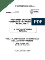 MODULO 2° VISITA INSTITUCIONAL UPAO juanportales