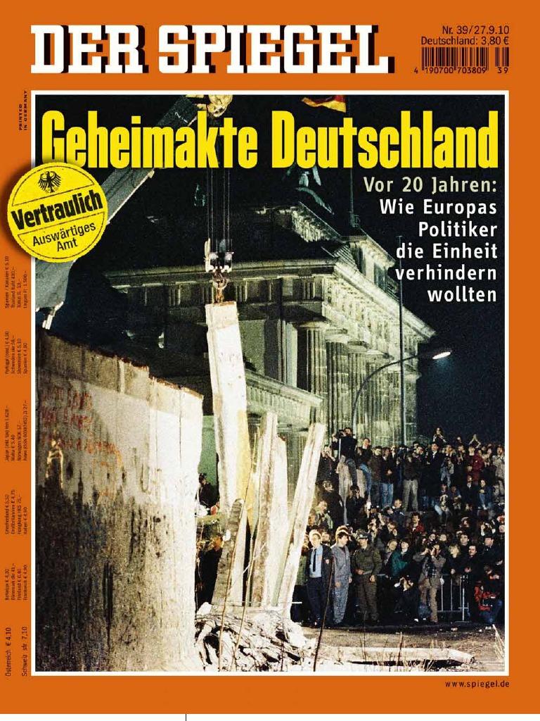 Der spiegel magazin 2010 39 mini geheimakte for Der spiegel redakteure