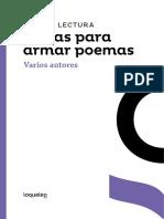 Guia de Lectura Letras Para Armar Poemas