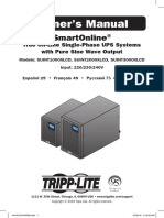 Tripp Lite Owners Manual 790289