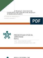 Agenda de Trabajo Solucion de Conflitos Para Equipos