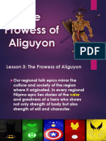 The Prowess of Aliguyon