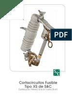 Cortacircuitos Fusible XS 25 Kv