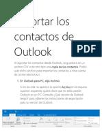 Exportar los contactos de Outlook.docx