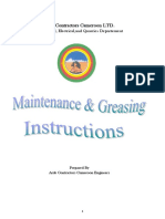 Maintenance Greasing Instructions