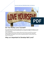 How to Love Yourself 15 Tips for Developing Self Love