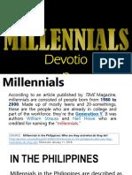 1. Millennials and Devotion