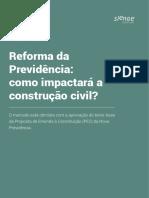 Relatório Reforma Da Previdência