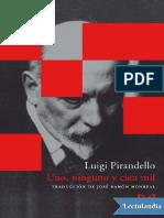 Uno Ninguno y Cien Mil - Luigi Pirandello