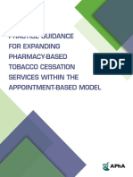 Practice Guidance Tobacco Cessation