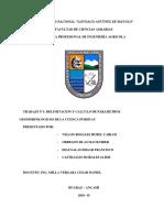 Consistencia de Datos Hidrologia