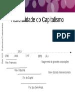 Historicidade Do Capitalismo