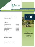 Equipo 1 Resumen Ejecutivo MRP Planeacion de Requerimiento de Materiales