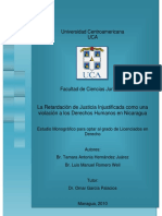 Retardación de Justicia en Nicaragua - UCA