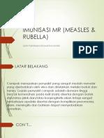 Imunisasi Mr (Measles & Rubella)
