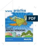 Ley Rentas Vitalicias -METLIFE