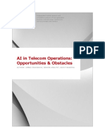 AI in Telecom Operations Opportunities Obstacles