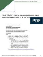 MPACATANG-CASE_DIGEST_CRUZ VS SEC DENR.rtf