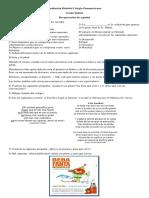 Recuperación de Español Quinto Refinado PDF