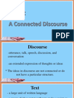 Connected Discourse1
