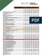 Lista de Precios SEYTU Per 2019 Junio