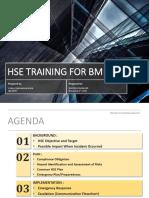 HSE Training for BM