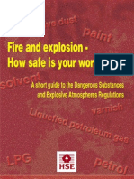 Fire and Explosin How Safe is Your Workplace Indg370