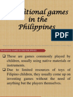 Traditional Games in the Philippines