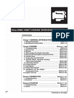Hino H06 H06CT Workshop Manual