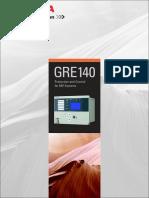 7. Relay Gre140 Catalog Gkp-99-12026 (Draft Rev0 0) PDF