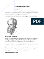Top 12 Contributions of Socrates.docx
