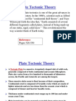 Lesson 4 - Plate Tectonic Theory