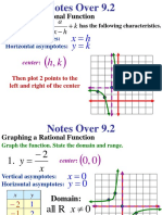 Graphing Rational Functions Part 2
