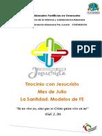 Tirocinio Centimision de Julio (i Etapa)
