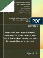 Bloque II. Ejercicios Sinalefa
