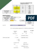 Calcul Grinda IPN Pod