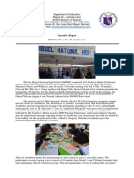 Narrative Report ( Nutrition Month )
