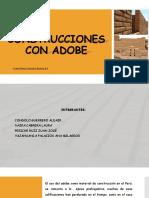 Construcciones Con Adobe Ppt