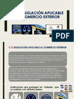 Legislación aplicable al comercio exterior