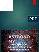 Universe and Solar System